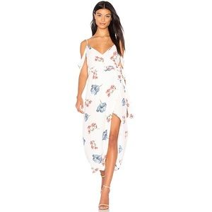 NWT Bardot Floral Wrap Dress